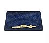 Жіночі барсетка. Жіноча сумка-клатч синя. (К516)