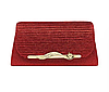 Жіночі барсетка. Жіноча сумка-клатч червона. (К517)