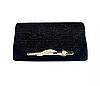 Жіночі барсетка. Жіноча сумка-клатч чорна. (К518)