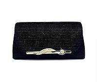 Жіночі барсетка. Жіноча сумка-клатч чорна. (К518), фото 1
