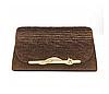 Жіночі барсетка. Жіноча сумка-клатч коричнева. (К519)