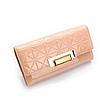 Женский кошелек розовый. (0253)
