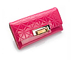 Женский кошелек розовый. (0254)