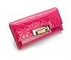 Жіночий гаманець рожевий. (0254)