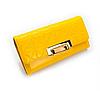Женский кошелек желтый. (0256)