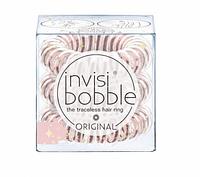 Резинки для волос INVISIBOBBLE из коллекции ORIGINAL You are in my Wishlist прозрачный розовый 3шт/уп