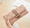 Жіночий гаманець City Light рожевий 0702