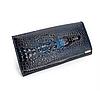 Жіночий гаманець синій 0199
