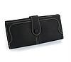 Женский кошелек черный 0460