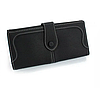Жіночий гаманець чорний 0460