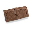 Женский кошелек коричневый 0463