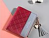Жіночий гаманець DEABOLAR червоний 0138