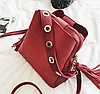 Женская сумка красная 1156
