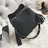 Женская сумка черная 0632