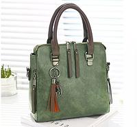 Женская сумка зеленая 0151
