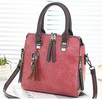 Женская сумка розовая 1096