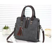 Женская сумка серая 0148, фото 1