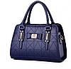 Женская сумка синяя 0747