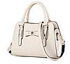 Жіноча сумка біла 0659