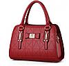 Женская сумка красная 0493