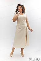 Белое кружевное вечернее женское платье из гипюра  347-3 54