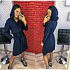 "Платье с капюшоном норма + батал""Armani"" Dress Code"