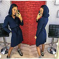 """Платье с капюшоном норма + батал""""Armani"""" Dress Code, фото 1"""
