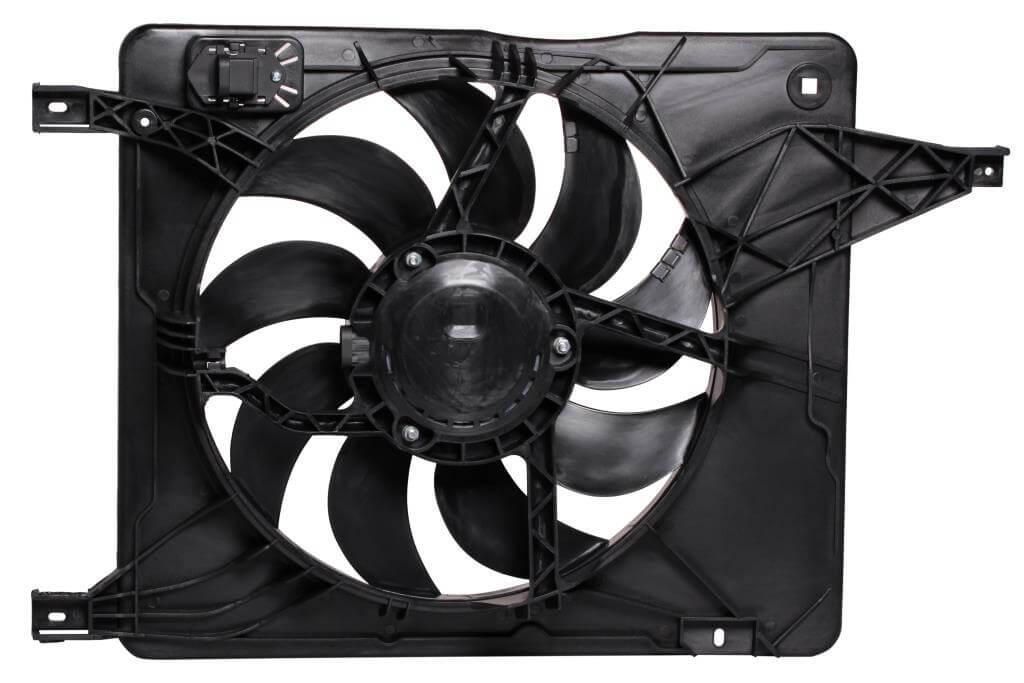 Вентилятор радіатора (Дифузор) Nissan Qashqai (06-) МКПП/АКПП