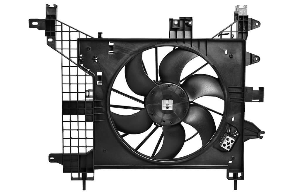 Вентилятор радиатора (Диффузор) Renault Duster 1.5/1.6/2.0 (10-) AC+