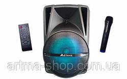 Активная акустическая система с микрофоном AiLIANG LiGE-AR12QK НЧ-динамик с аккумулятором, Мощность 30т Ватт