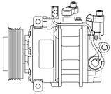 Компресор кондиціонера VW Touareg (02-) 3.0 TDI, фото 3
