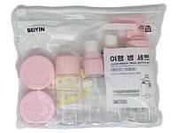 Набор емкостей дорожных Beiyin 6 шт, цвет в ассортименте