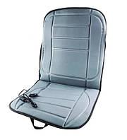 Накидка на сиденье авто с подогревом от прикуривателя   Накидка с подогревом на автомобильное кресло