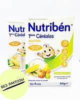 Безмолочная растворимая кашка Nutriben с фруктами и витаминами, кальцием и фосфором!