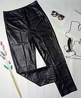 Женские брюки из кож зама