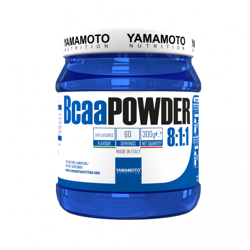 Yamamoto Nutrition BCAA Powder 8:1:1, 300 G