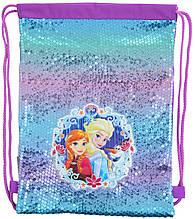Сумка мешок Yes Frozen для обуви разноцветный