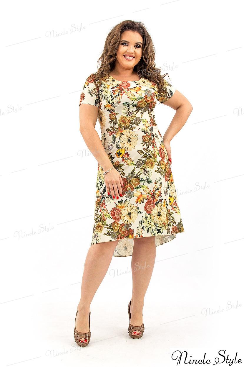 Платье женское в весеннем стиле - шёлк ARMANI 206 54