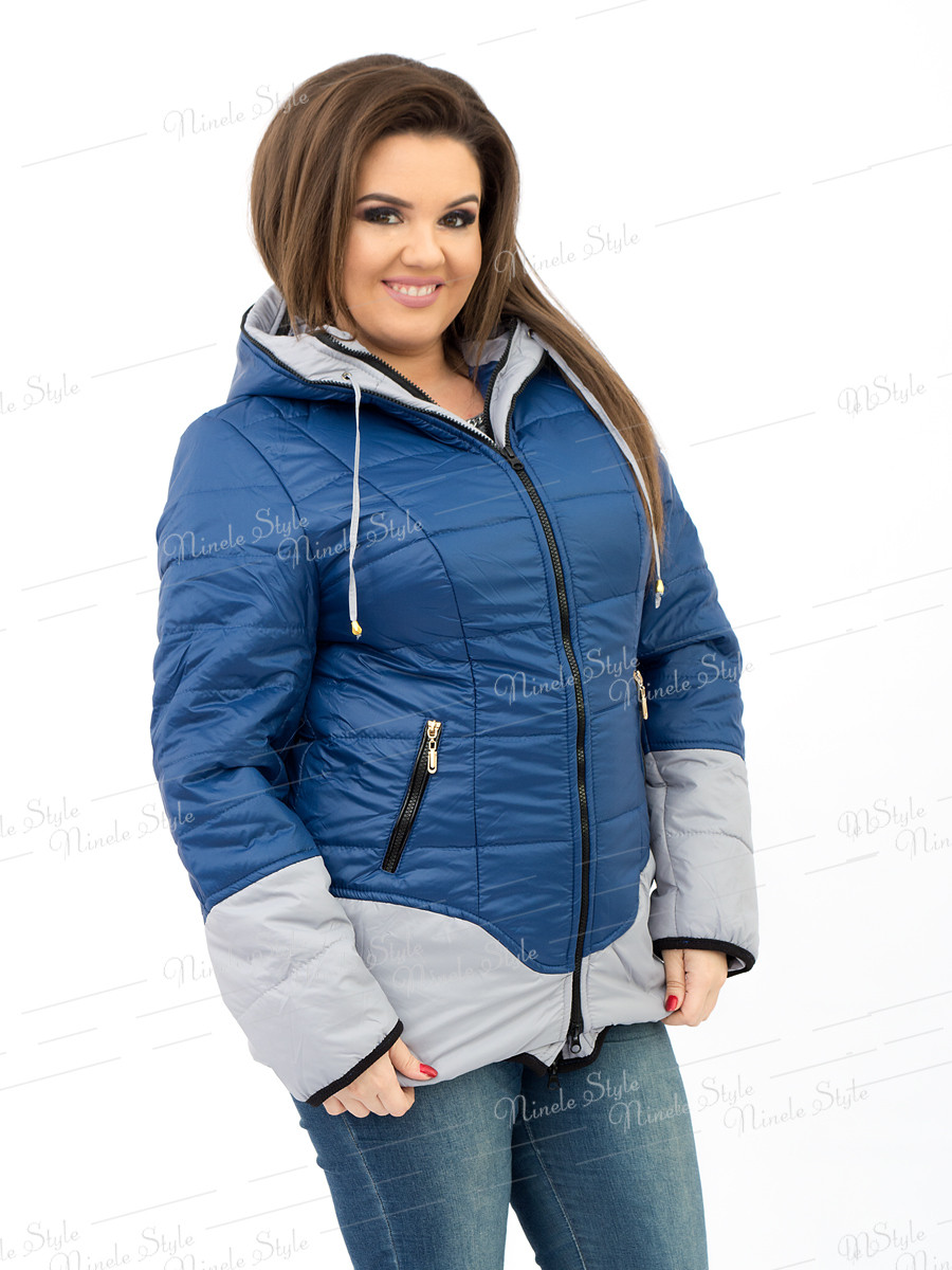 Голубая женская куртка модель 90 54
