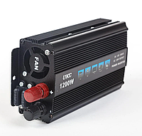 Преобразователь напряжения(инвертор) Ukc 12-220V 1200W Usb