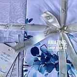 Постельное белье Сатин   Постільна білизна      Комплект постельного белья. Евро размер., фото 2