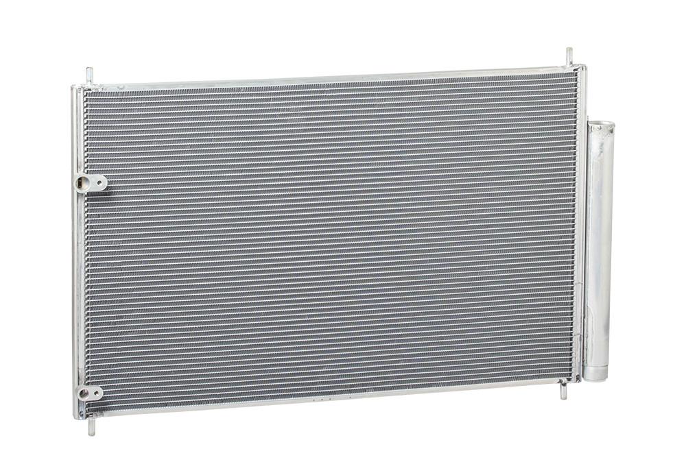 Радіатор кондиціонера Toyota Corolla 1.6 (07-) АКПП,МКПП з ресивером