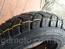 Резина на скутер 3.50-10 с камерой шоссе, фото 3