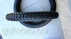 Покрышка для мопеда 2.50-16 с камерой шипованный протектор
