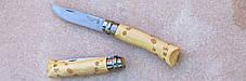 Нож складной Opinel №7 VRI Nature Waves (гравировка следы) 001550, фото 2