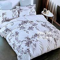 Постельное белье Сатин | Постільна білизна   |  Комплект постельного белья. Евро размер.