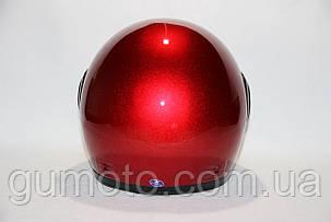 Шлемы для мотоциклов Hel-Met 101 красный мат с двумя стеклами  , фото 2
