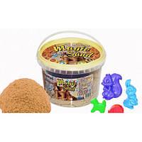 Кинетический песок Magic sand классический с формочками (0.5 кг) Strateg 371-1