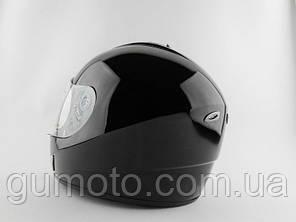Шлем для мотоцикла Hel-Met 180 черный глянец, фото 2