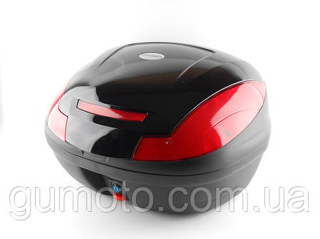 Кофр для скутера мотоцыкла HF 882 на два шлема, фото 2